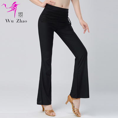 Adult Female Latin Dance Practice Pants Slim Slim Modern Friendship Dance Pants