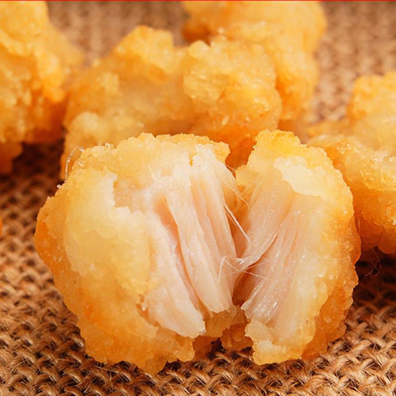 卡兹脆非正新风◆味大鸡排10片油炸小吃鸡胸肉扒冷冻半成品批发包邮