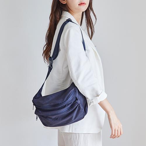 Hàn Quốc ithinkso retro nylon túi đeo vai thời trang nam và nữ túi đeo vai nhẹ túi hàng ngày ngoài trời túi eo - Túi