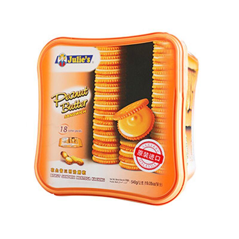 茱蒂丝三明治夹心饼干540g*2箱
