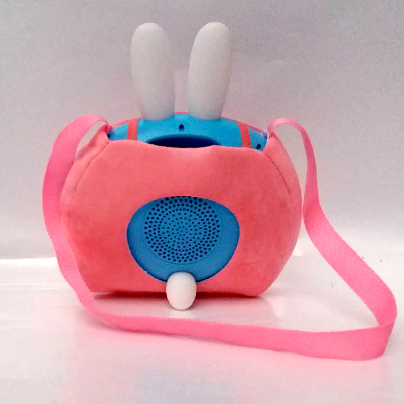 Pink bag rabbit