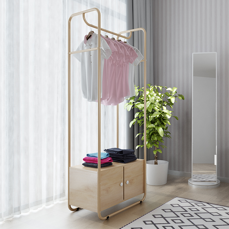 Simple Coat Rack Bedroom Hanger Floor Rack Hanger Simple Modern Clothes Rack  Home Land Bag Rack
