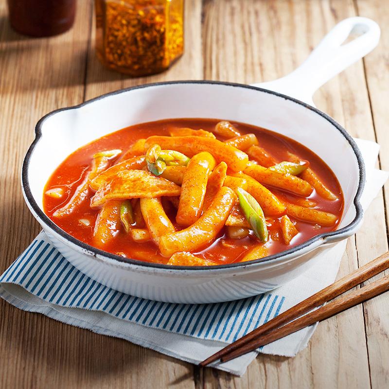 正宗韩式风味 朴家炒年糕 韩式辣酱炒年糕条 年糕火锅 包邮送酱包