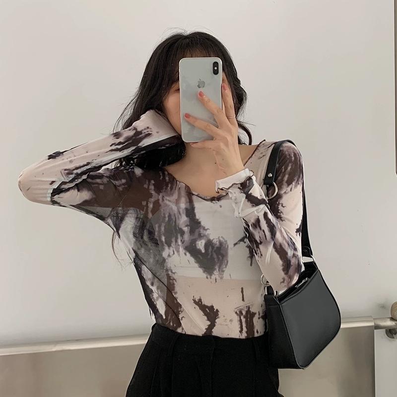 小众设计新款復古拼接金属环腋下法棍包欧美时尚单肩斜挎包女详细照片