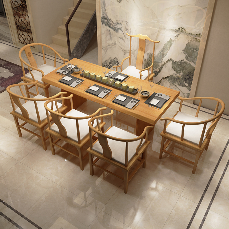 Delightful Solid Wood Tea Table New Chinese Tea Table And Chair Combination Antique  Simple Tea Table Gongfu