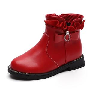 想和时髦沾上边?冬季一定要有的儿童短靴