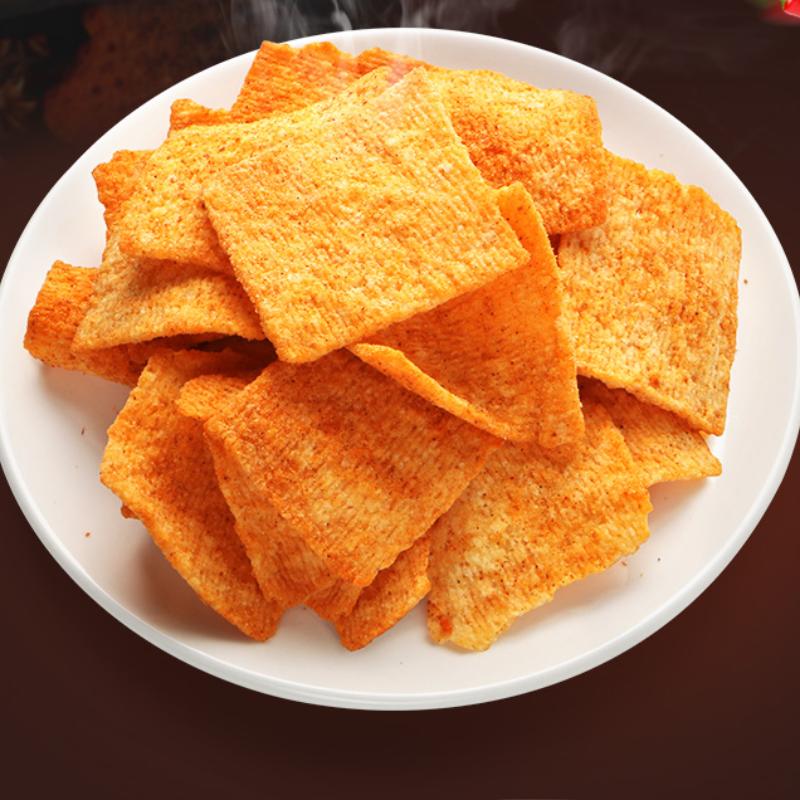 味胃味锅巴手工零食小吃休闲食品麻辣味400g大份老襄阳大米锅巴