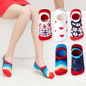 【5双装】硅胶防滑夏季浅口隐形船袜