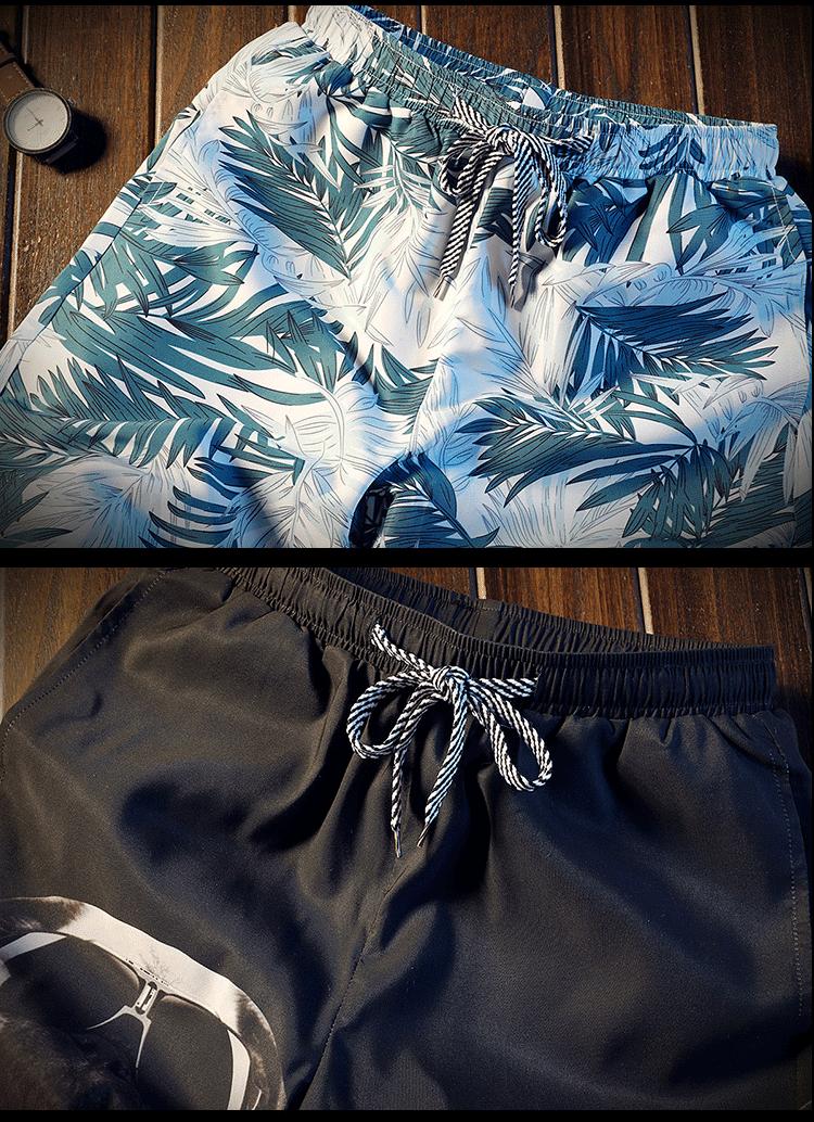 XZ304A-K167-P20 夏季新款休闲裤男韩版沙滩裤宽松情侣短裤 地板