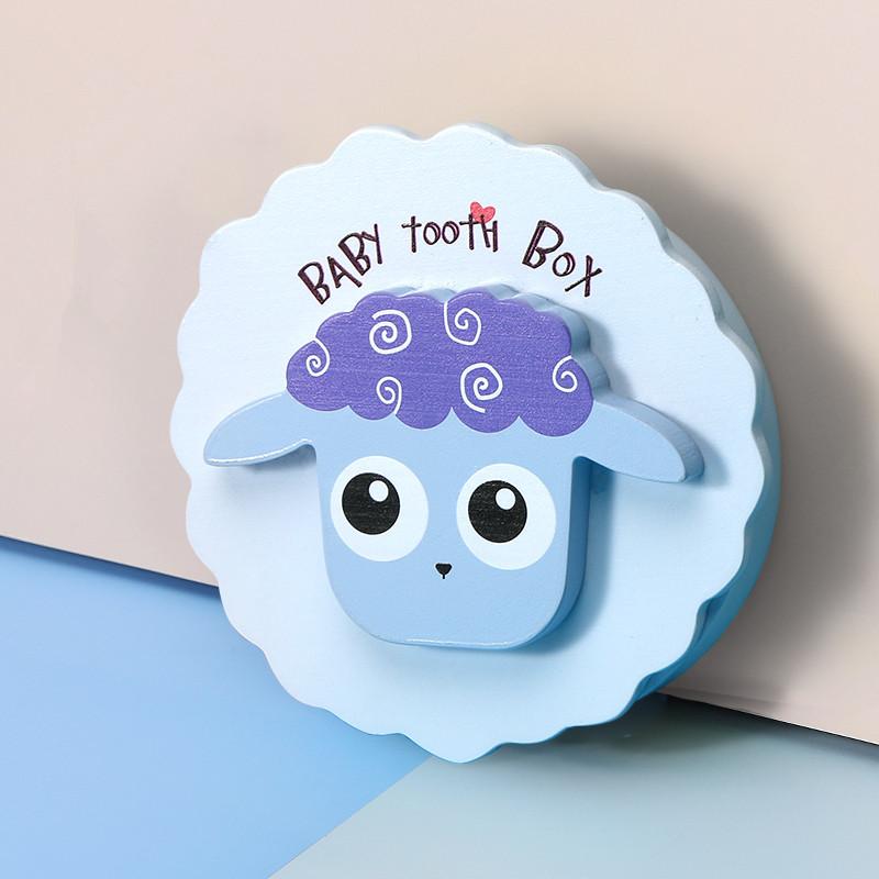 乳牙纪念盒女孩儿童换掉牙收纳保存盒乳牙盒男孩收藏装牙齿的盒子