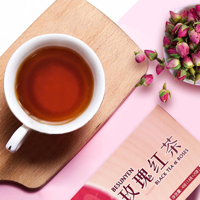 碧生源玫瑰花茶搭配红枣桂圆枸杞茶非菊花决明子女性养生茶组合茶
