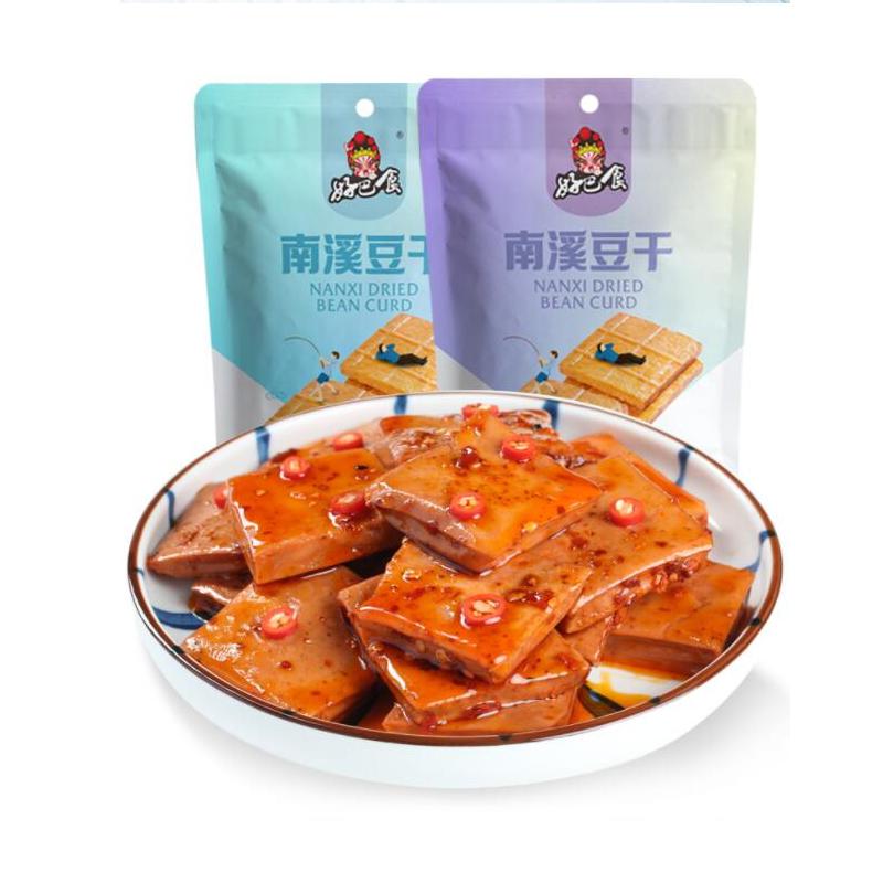 好巴食豆干网红麻辣条小零食小包装五香辣休闲小吃食品整箱豆腐干