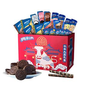 亿滋奥利奥夹心饼干巧克棒礼盒