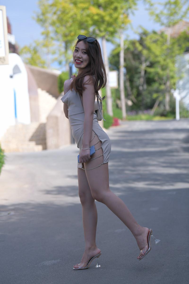 红石旅拍摄影作品第三篇浅黄色包臀裙美女【套图+视频】 61216121  帖子ID:842