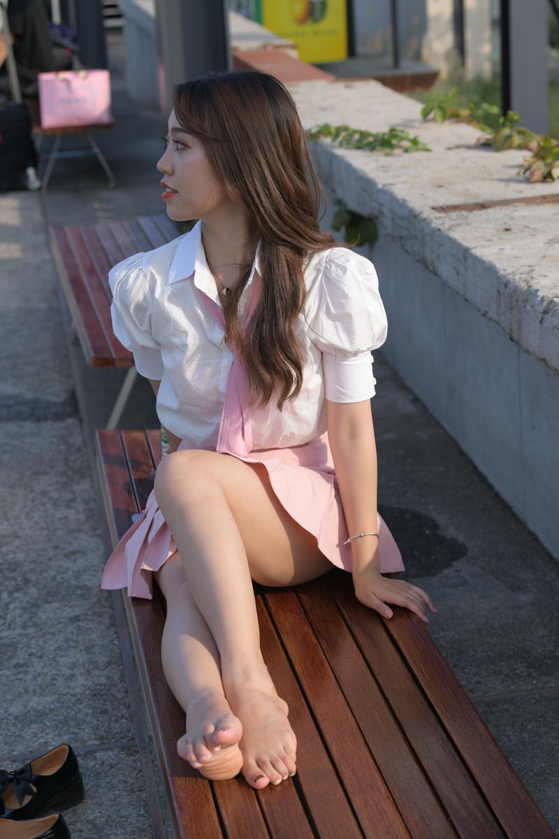 一筒街拍作品粉红色的叮咛【套图+视频】 633633 帖子ID:806
