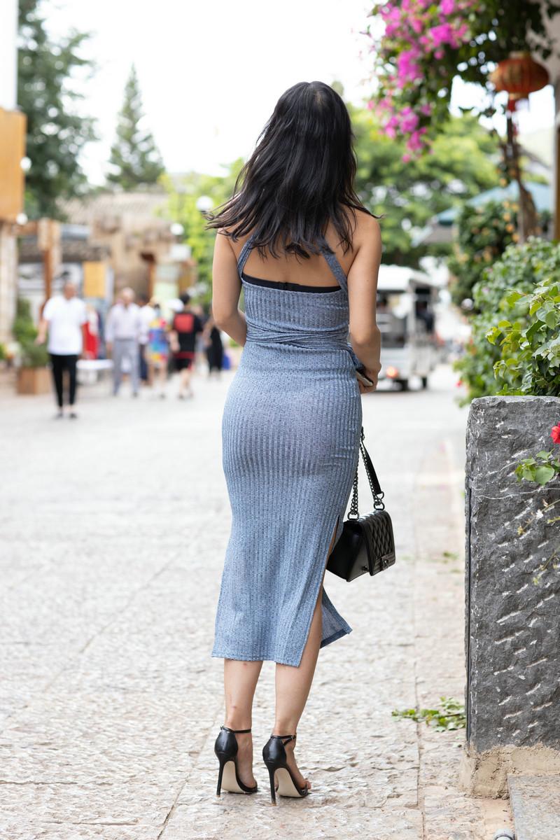 范家辉大理旅拍作品第三篇蓝色长裙美女【图片】 80558055  帖子ID:764