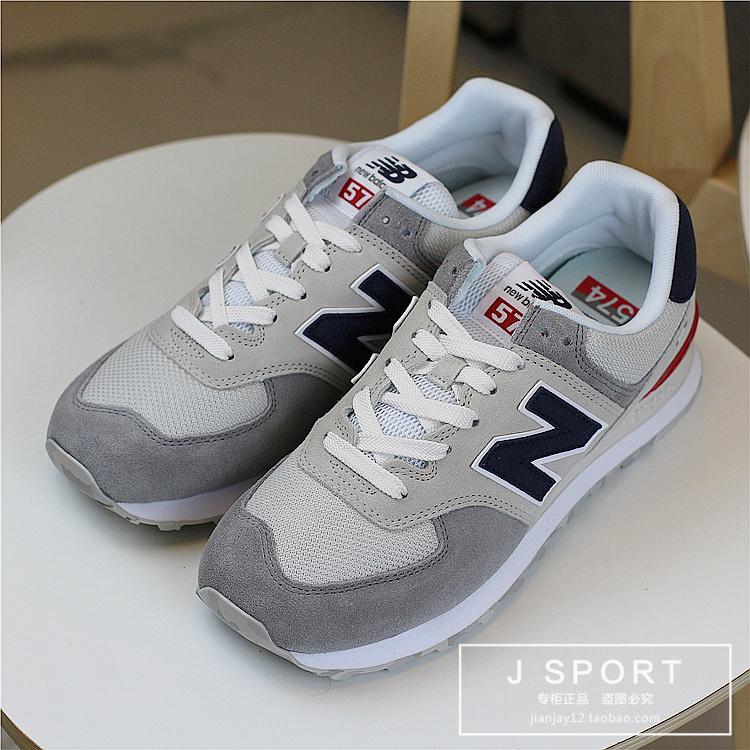 New Balance NB 新款男女复古休闲鞋跑步鞋 ML574PTR LGI NCB UJD详情图