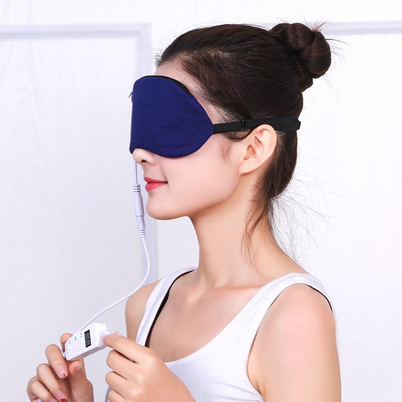 USB电加热发热眼罩眼部按摩仪器热敷蒸汽眼保仪去黑眼圈睡眠眼罩_天猫超市优惠券