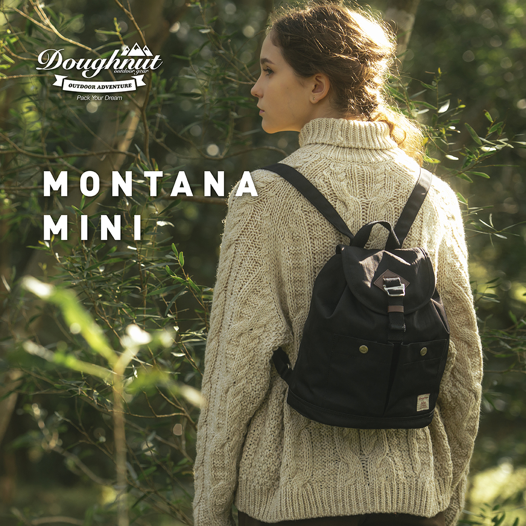 3b5ee44216f4 Doughnut MontanaMini donut female mini outdoor leisure travel waterproof  lightweight backpack