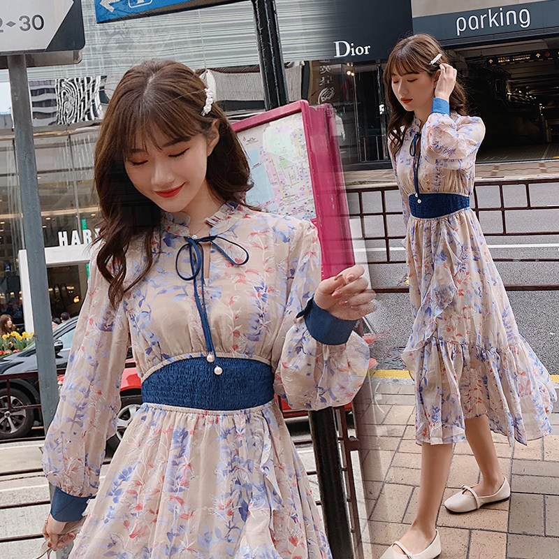 sy春秋女装品牌欧洲站丽影衣香连衣裙新款2019茉莉雅集Artka5