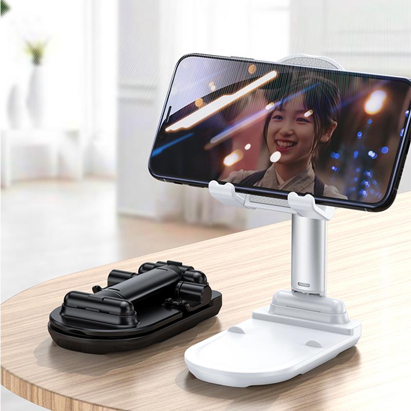 手机支架桌面懒人ipad平板通用直播看视频支撑架可调节升降折叠座