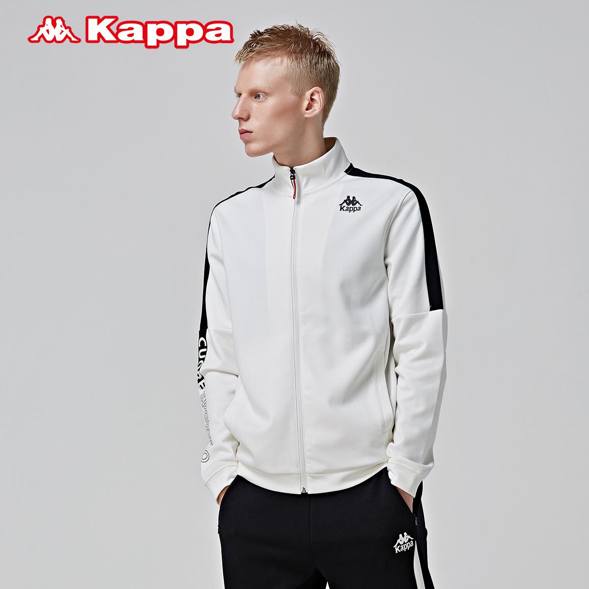KAPPA卡帕情侣男女卫衣休闲开衫外套夹克|K0852WK01