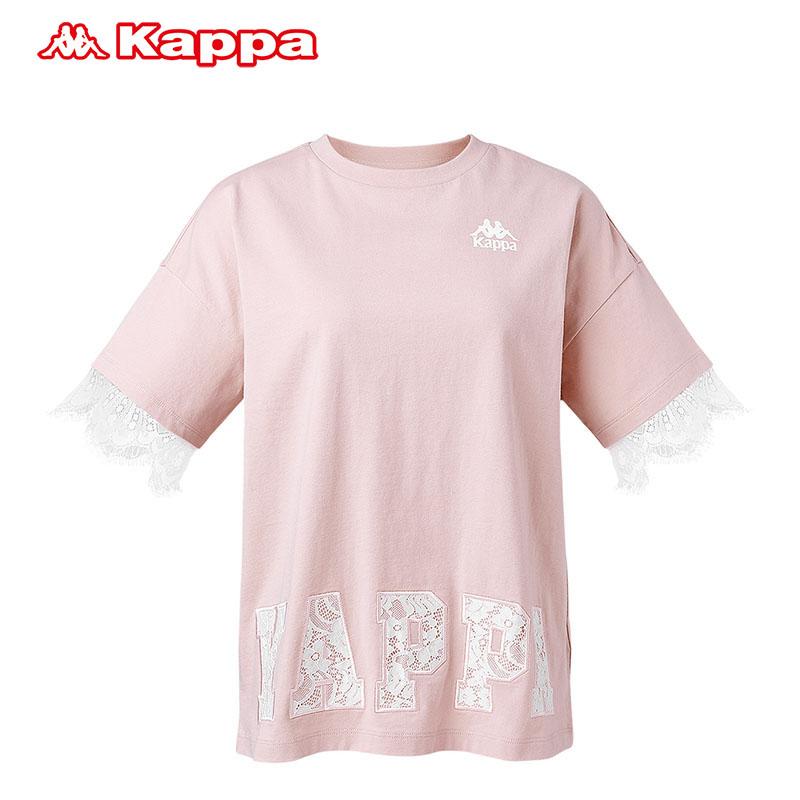 Kappa卡帕女款休闲短袖运动T恤夏季半袖2019新款 K0922TD72D