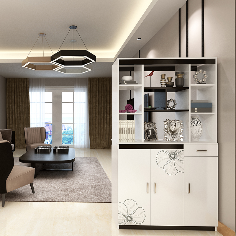 Simple Modern Porch Cabinet Partition Cabinet Door Hall Cupboard Shoe  Cabinet Living Room