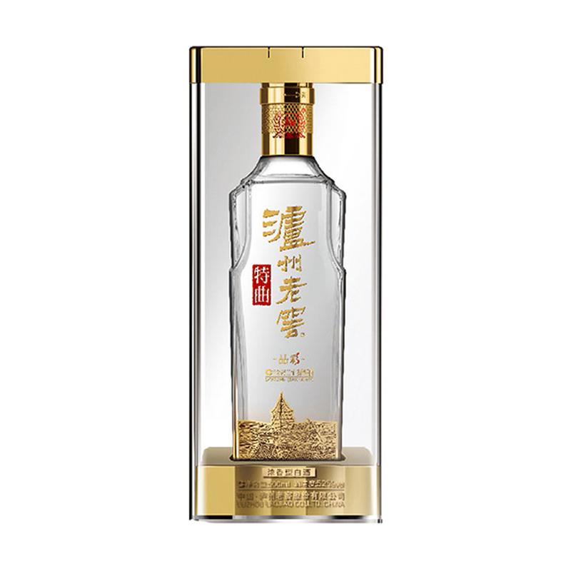 泸州老窖 特曲 晶彩 52度纯》粮浓香型500ml纯粮食◆酿造高度白酒