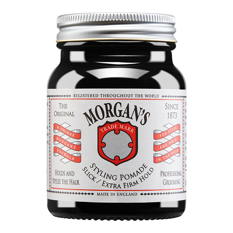 morgans雅痞氏发油超强男士定型摩根斯发蜡保湿油头膏发泥清香