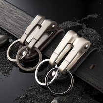 Mens waist-hanging key buckle creative personality car key chain pendant metal