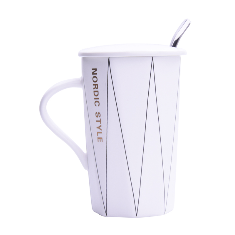 Line cup - white