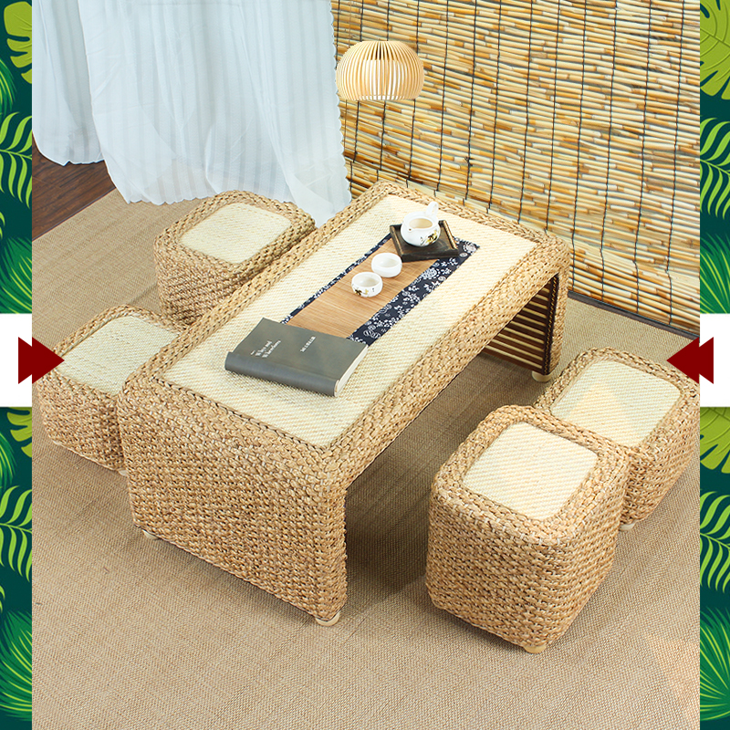 Usd 112 68 Simple Rattan Small Coffee Table Low Table Floating