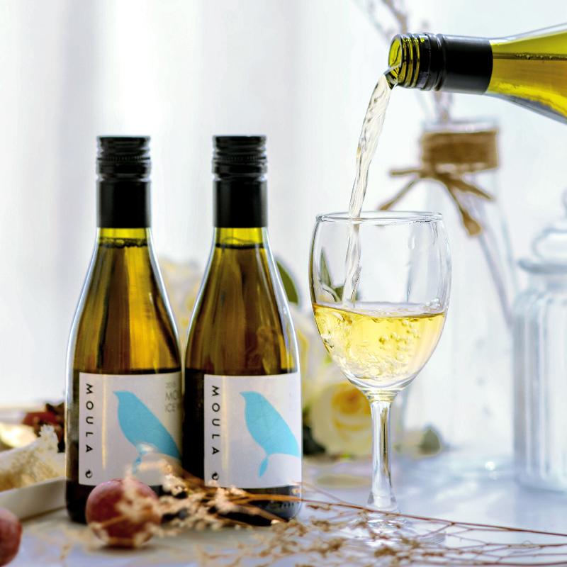慕拉冰酒网红酒小瓶白葡萄酒甜型甜红酒非起泡酒果酒女生甜酒礼盒