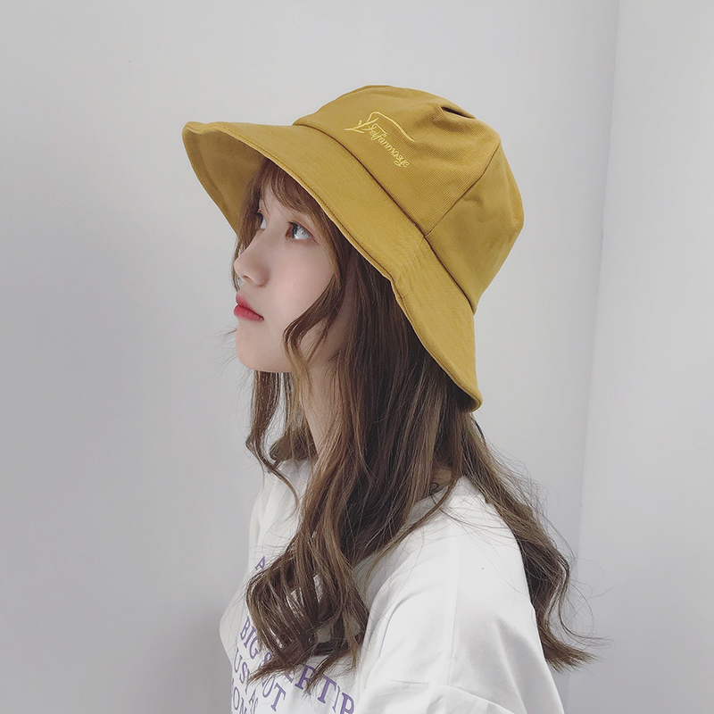 595da1e6413c6 Fisherman hat female spring and summer chic Korean casual wild Japanese  hipsters Harajuku literary sunscreen soft sister sun hat
