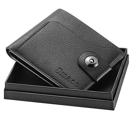 Smaco官方直售 新款男士钱包 礼盒装 券后【9.9元】包邮