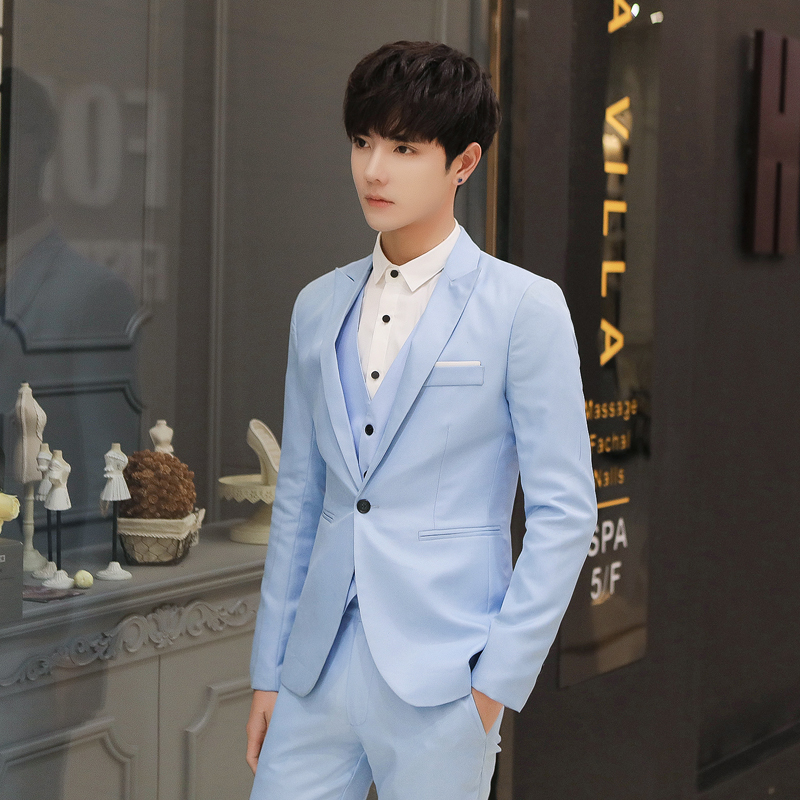 Spring New Suit Coat Single We...