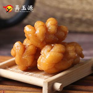 吴玉源传统手工糕点零食点心特产红糖酥脆小辫网红麻花袋装批发
