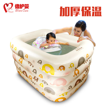 times baby infant Swimming pool insulation inflatable infant child baby swimming pool pad pool newborn bath
