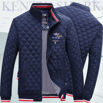 正品美国男装棉衣外套Polosport冬季鲨鱼夹克薄款皇家服
