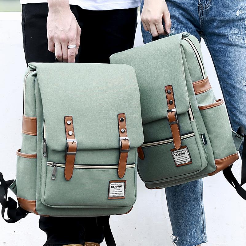 adbb0d1cf825 Школьная сумка женская корейская версия старшеклассников ветер диких  студентов колледжа компьютерная сумка рюкзак мужской простой 2019 новый