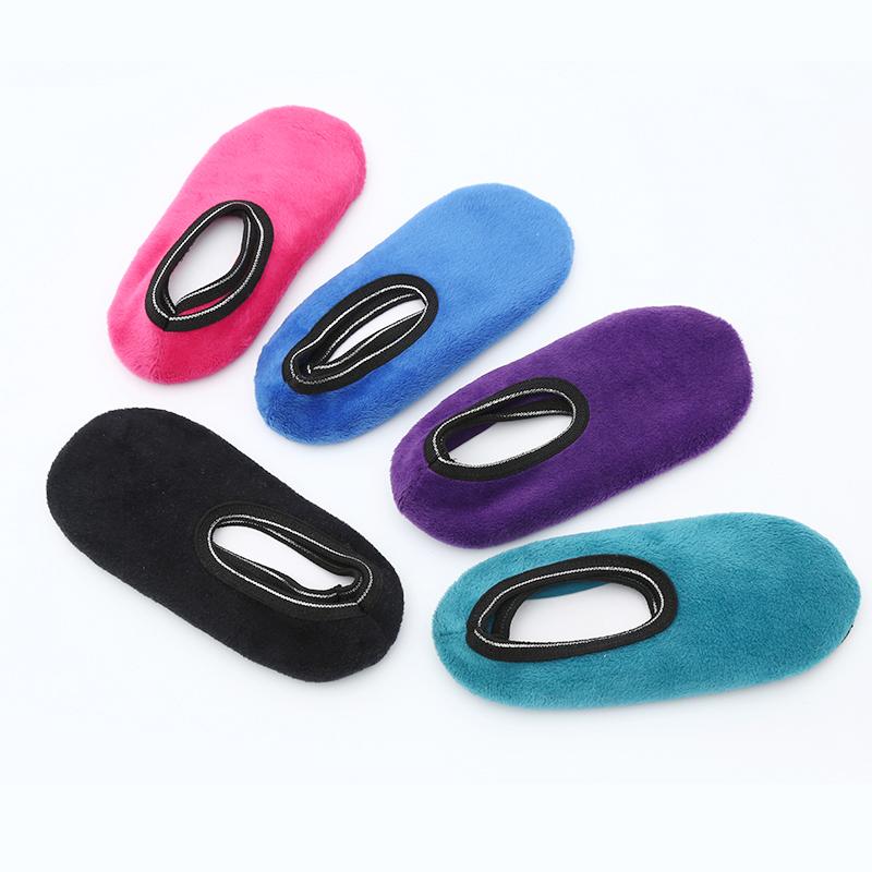 地板袜防滑底成人室内鞋套早教袜套男女春秋船袜点胶厚底瑜伽袜子