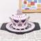 皇冠+砖防滑垫=淡粉色