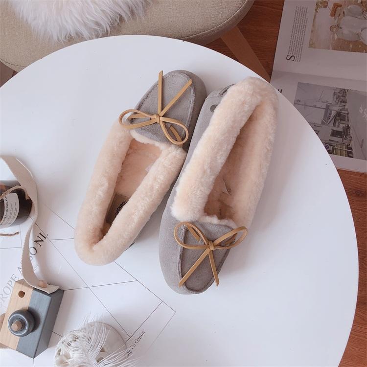UGG  W Solana 索拉纳 女式毛毛鞋 保暖豆豆鞋 单鞋 5折$54.99 海淘转运到手约¥482 国内¥1180