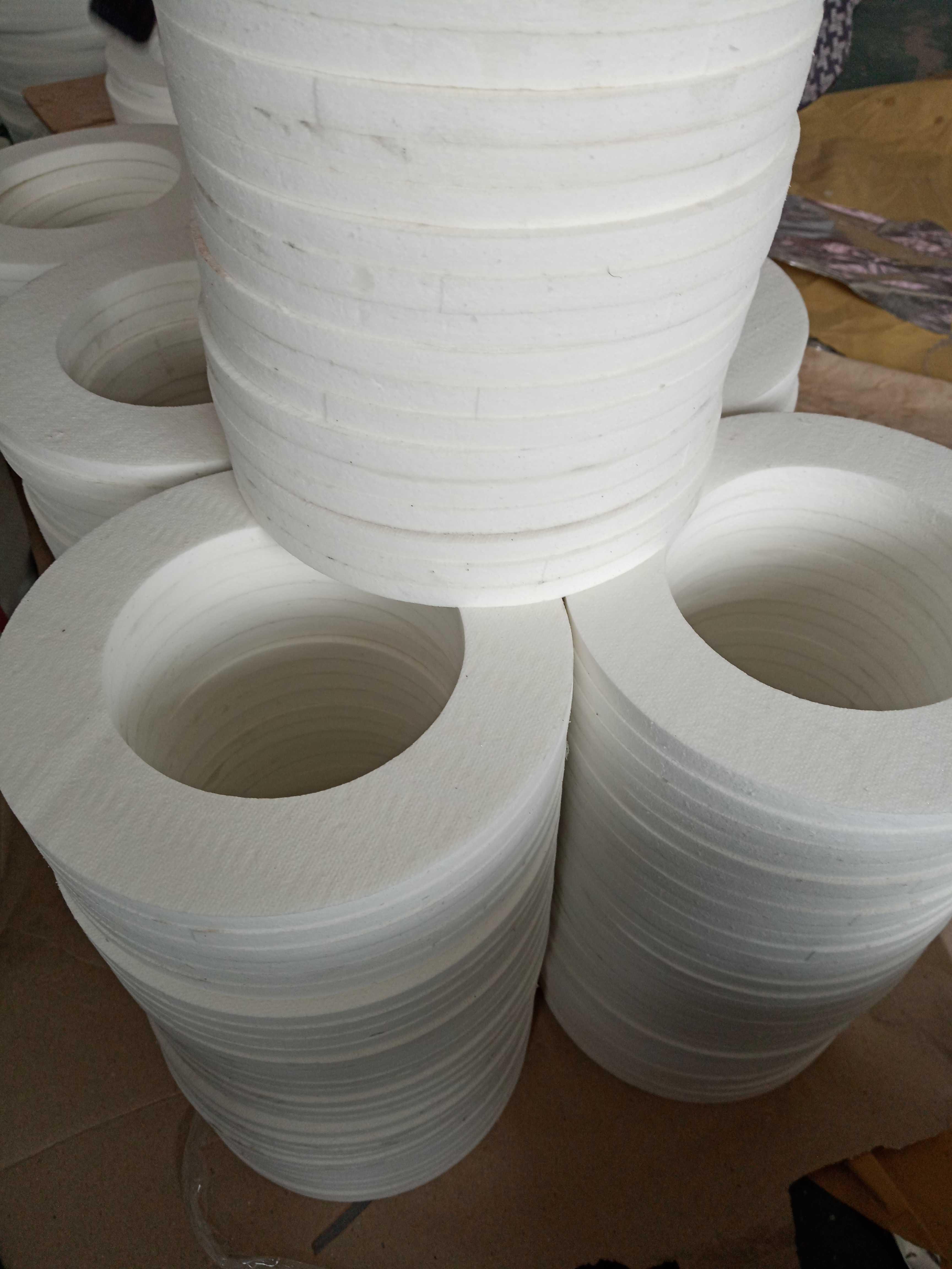 陶瓷纸 陶瓷纤维纸垫片 耐高温隔热1000°陶瓷纸 防尘陶瓷纤维垫
