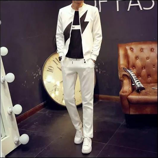 2017 người đàn ông mới của mùa hè Hàn Quốc phiên bản của áo khoác scorpion mùa thu áo khoác mỏng xu hướng mùa xuân và mùa thu thanh niên quần áo