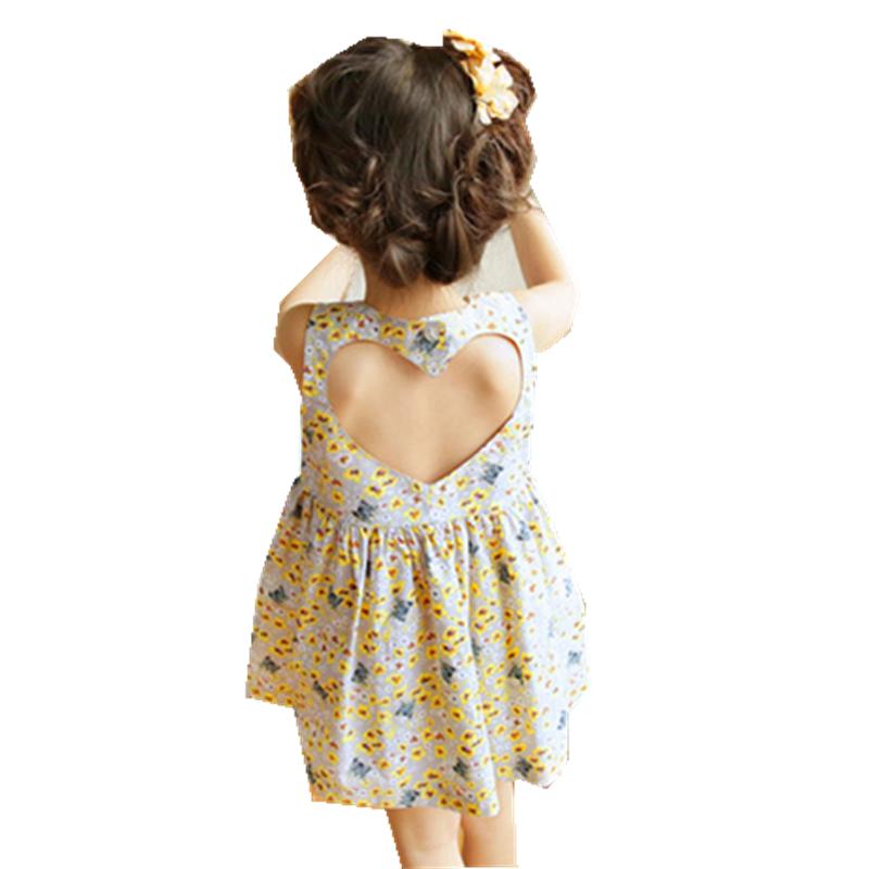 0b0a6c3bed6 ... Каждый день спец. предложение корейская версия детское Летние маленькие  цветочные на девочку Платье ребенка полностью