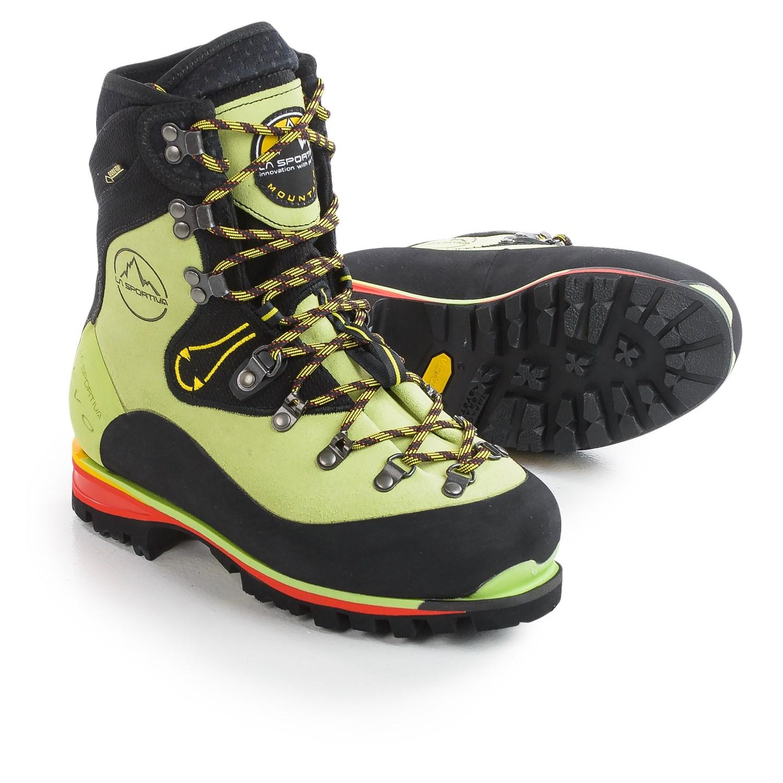 Море мыть сейчас в надичии La Sportiva Nepal EVO GTX мисс восхождение обувной альпийский ботинок подъем лед ботинок