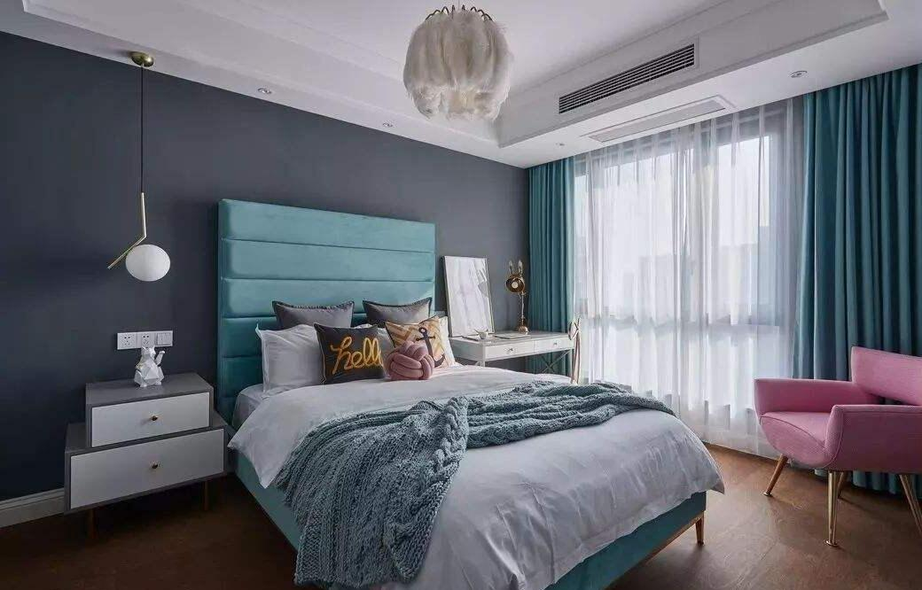 轻奢卧室这样造,家居幸福感飙升!