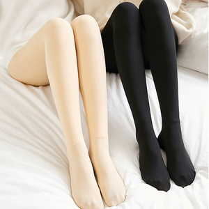 肉色打底裤女内穿光腿秋季神器加绒加厚黑色保暖秋裤外穿棉裤秋冬